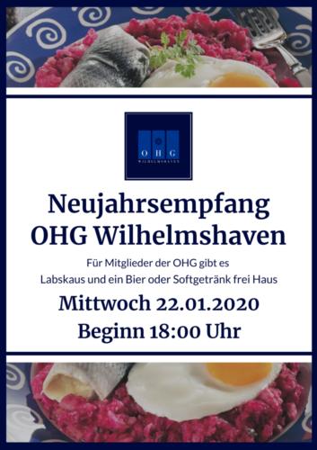 OHG Neujahrsempfang 2020