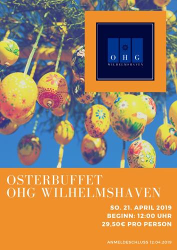 Osterbuffet 2019