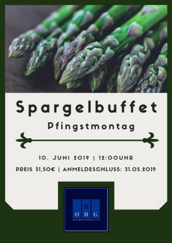 Spargelbuffet 2019
